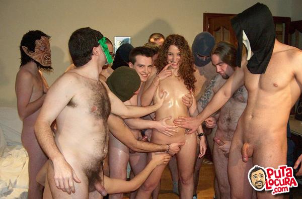 Hot handsome men in naked