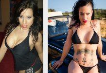 El antes y después de la diva del porno